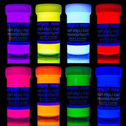 neon nights Glow in the Dark Paint | Luminescent | Phosphore