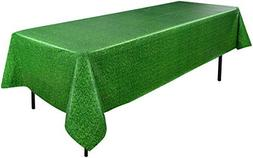 green tablecover easter spring golf