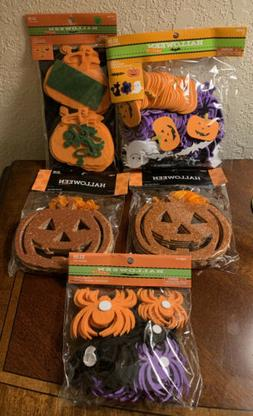 Halloween Decorations Party Supplies Classroom new 5 package