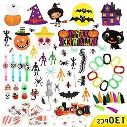 Auney Halloween Party Favor Toys and Decoration Set for Kids