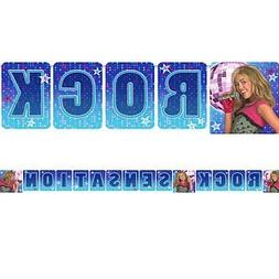 Hannah Montana 'Rock the Stage' Celebration Banner