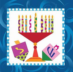 Hanukkah Party Supplies Luncheon or Dessert Napkins Pack of
