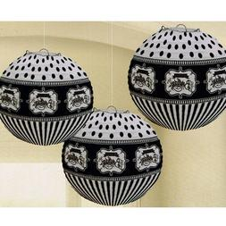 HAPPY BIRTHDAY Chalkboard PAPER LANTERNS  ~ Party Supplies D
