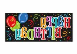 "Happy Birthday Wall Banner, 60"" x 27"""