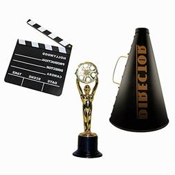 Windy City Novelties Hollywood Directors Party Kit Includes