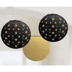 Amscan Hollywood Movie Themed Party Star Studded Round Lante