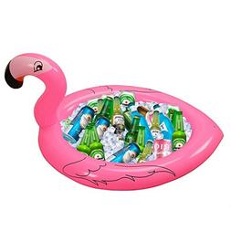 Inflatable Flamingo Cooler Salad Buffet Serving Bar Tray Ice