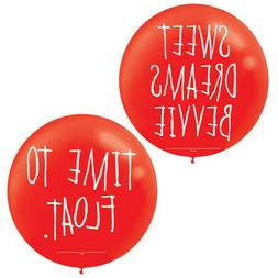 IT CHAPTER 2 BALLOONS Halloween Party Decorations TWO Time t