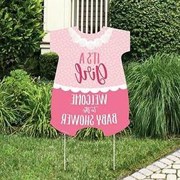 Big Dot of Happiness It's a Girl - Party Decorations - Pin