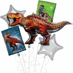 Jurassic World T- Rex Balloon Bouquet Birthday Decoration Pa