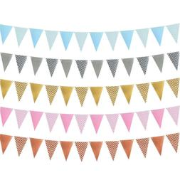 kids favors birthday party party decor bunting