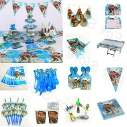 Kids Moana Maui Birthday Party Supplies Favor Tableware Deco