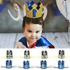 1 2 3st Birthday Baby Shower Crown Girl Boy Princess Party T