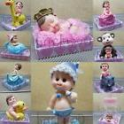 1 Baby Shower Boy Girl Cake Topper Decoration Animals Figuri