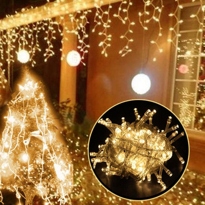 10M 100 LED Christmas Wedding Xmas Party Outdoor Decor Fairy