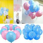 10pcs Party Printed Boy First Birthday Baby Girl Ballons Hot