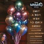 "11"" Qualatex Chrome Birthday Wedding Party Event Decoration"