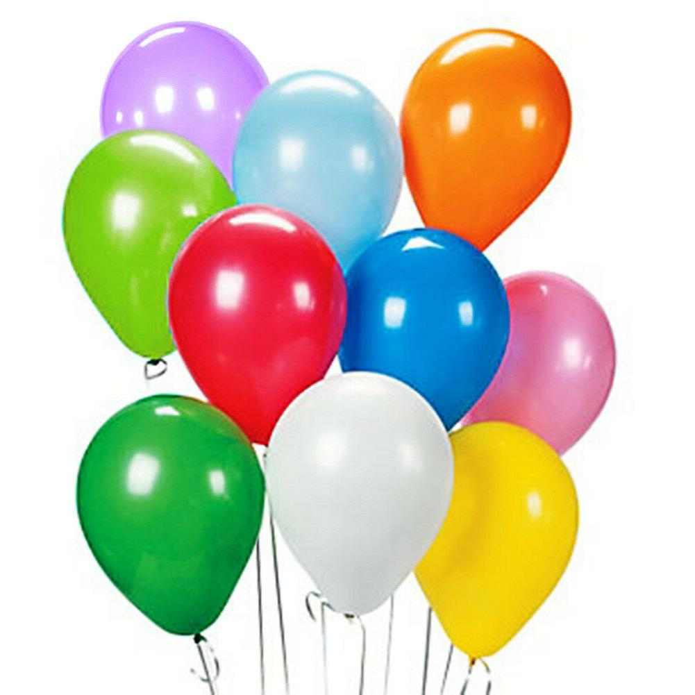 "12"" Birthday Wedding Party Decor Latex Helium Quality Balloo"