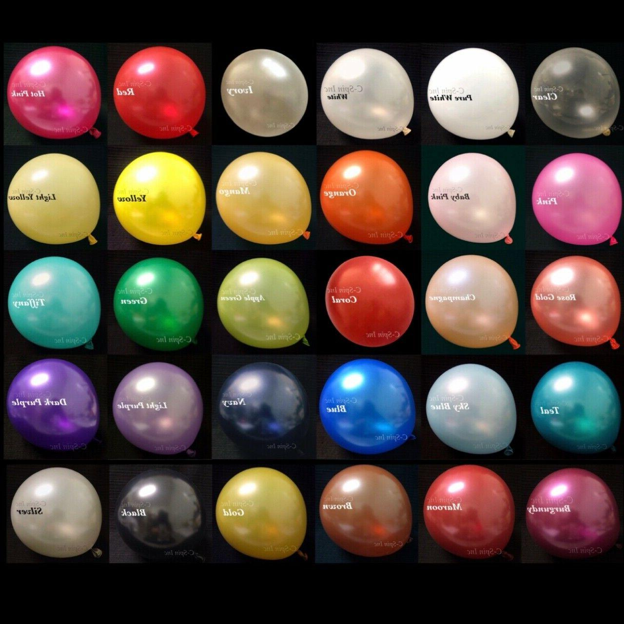 12 HeavyDuty Party Helium Quality Balloons