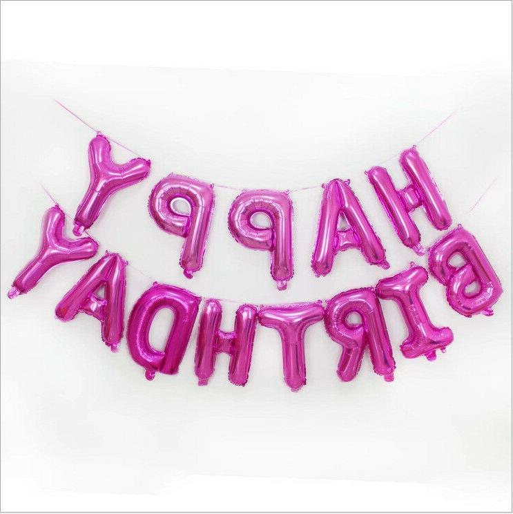 13Pcs/set Foil Decoration 16inch