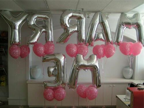 """16"""" 42"""" Foil Number Balloons Birthday"""
