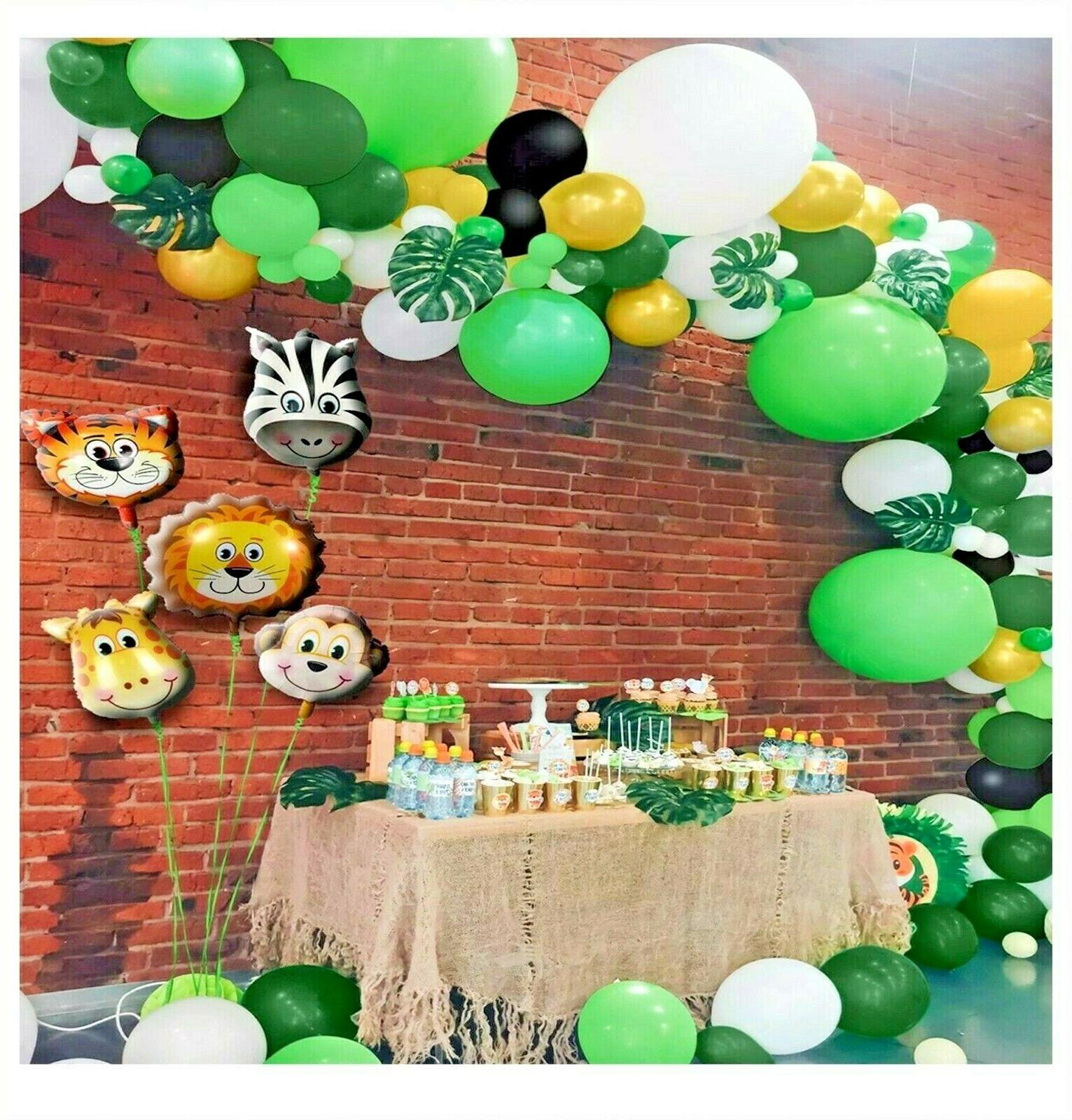 164pc Jungle Party birthday Baby Shower