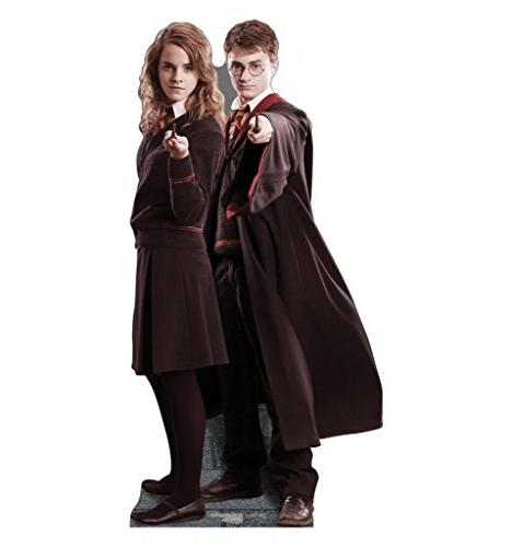 Advanced Graphics Harry Potter And Hermione Life-Size Cardboard
