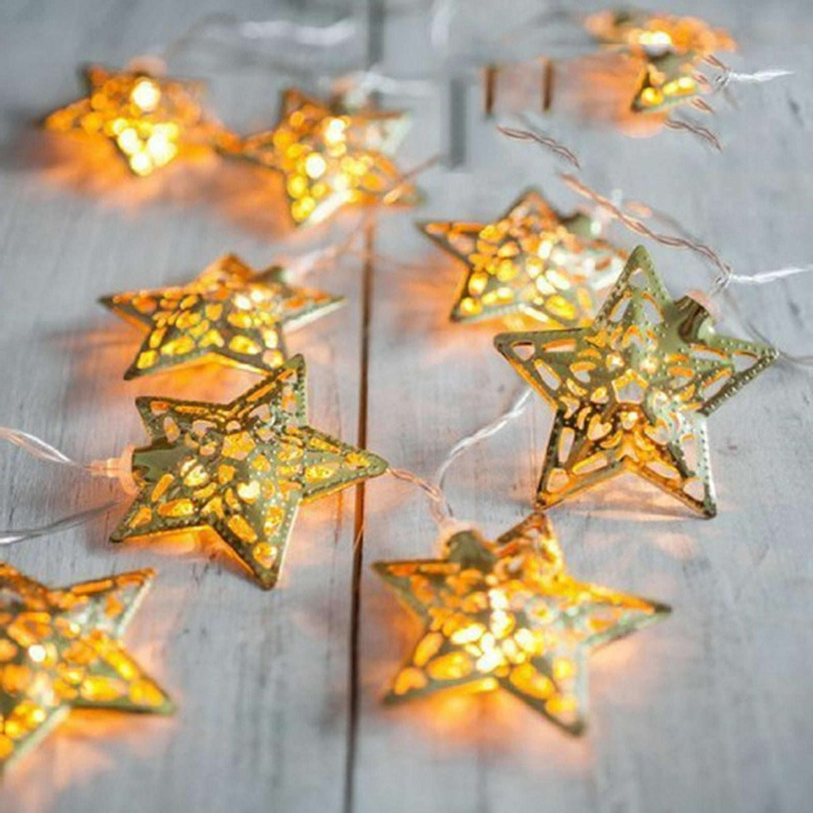 20 LED Star String Lights Wedding Party Decoration Camping P