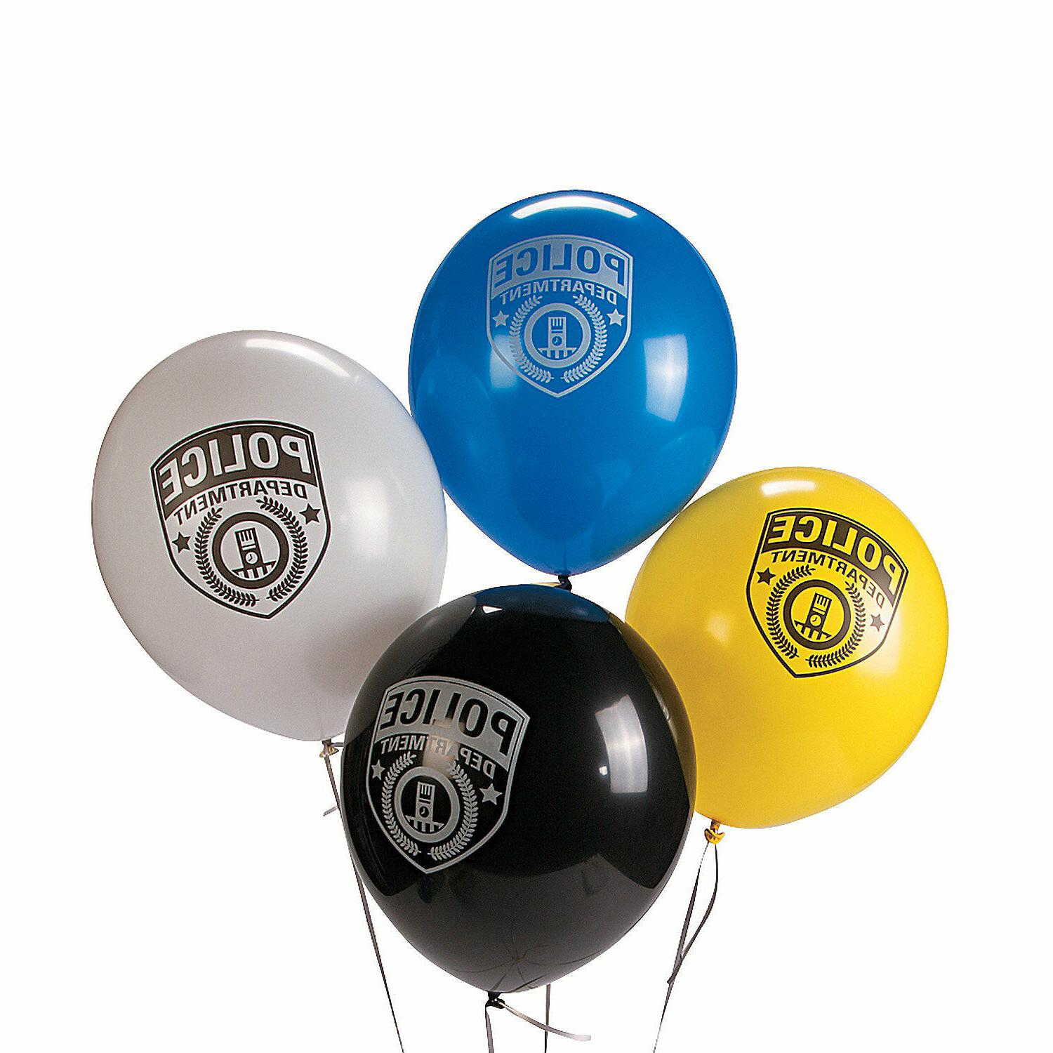 24 POLICE Policeman Cop Party Decorations Police Department