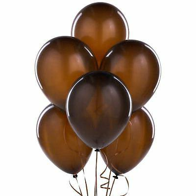 25 brown balloons party decorations party favours
