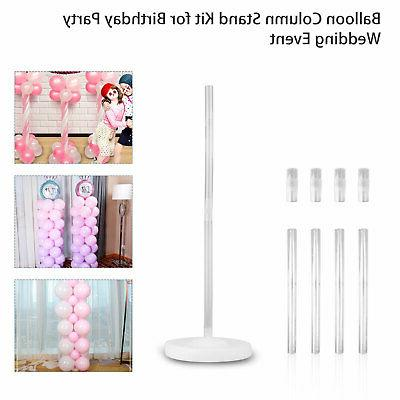 Large Balloon Set Column Stand Kit Birthday Wedding Party Decor