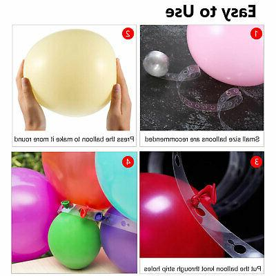 DIY Balloon Kit Water Base Stand Party Decor