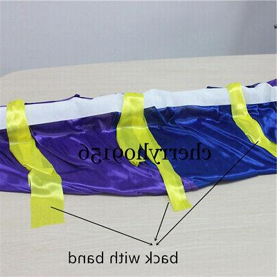 3*3M rainbow color wedding drapery event