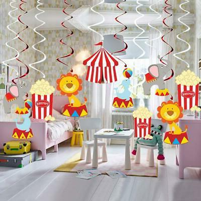 30Ct Circus Decorations Birthday Party Supplies