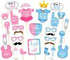 30PCS Baby Shower Gender Reveal Party Supplies Boy or Girl P