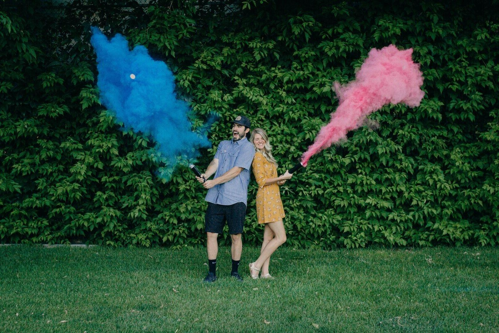 4 Gender Powder Cannons Party Smoke Cannon