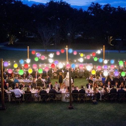 50-150 Balloons Light Up Decoration Wedding Birthday