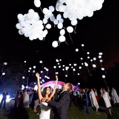 50-150 Light Up Balloons PARTY Decoration Wedding