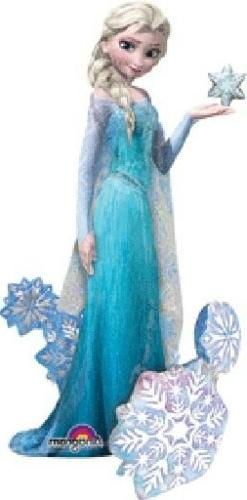 "57"" Frozen Elsa the Snow Queen Airwalker Foil Balloon Party"