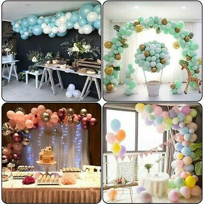 5m balloon chain tape arch frame connect
