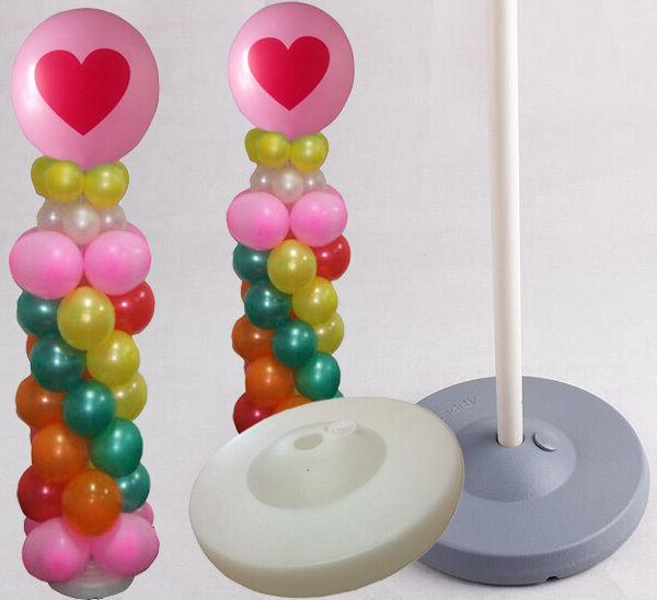 65 inch balloon column base stand display