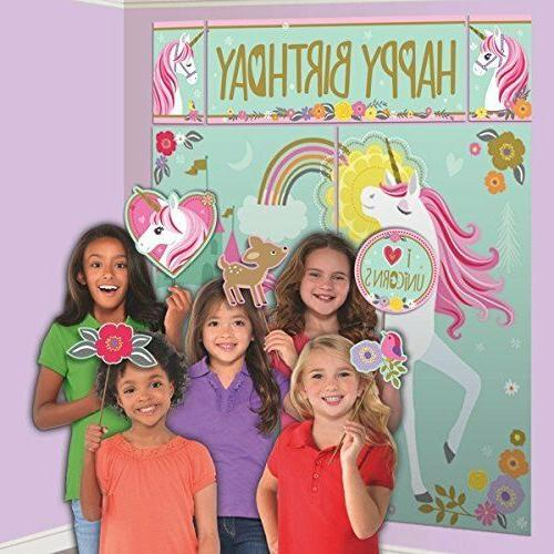 670735 magical unicorn scene setter photo booth