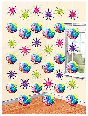 70's Disco Fever String Decoration Birthday Theme Party Deco
