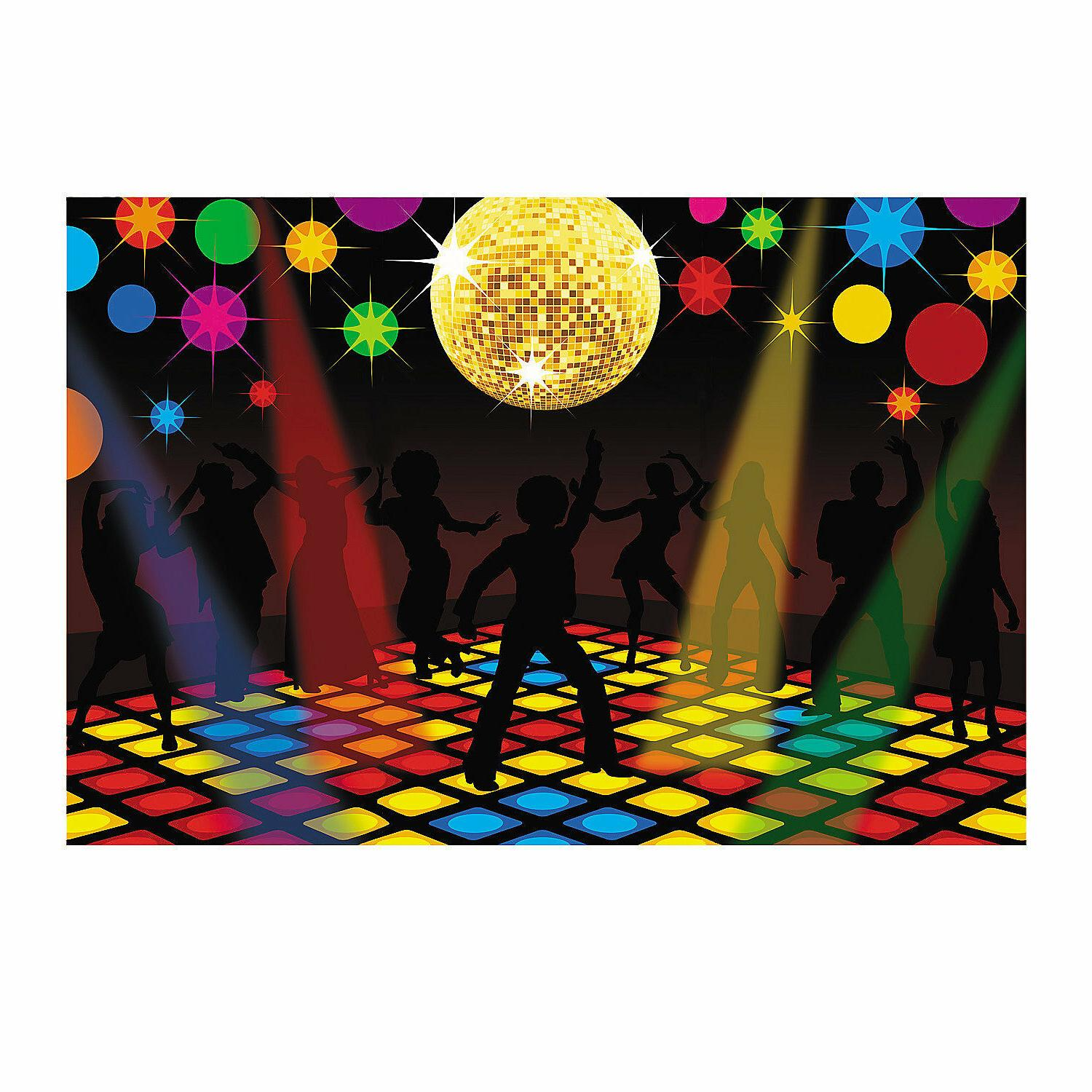 70s Night Fever Party Wall Prop set