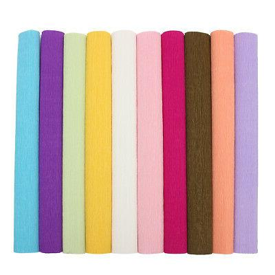 820ft Crepe Birthday Party Paper Streamer