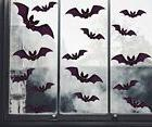 Moon Boat 96 PCS Halloween Party Decorations Bat Window Clin