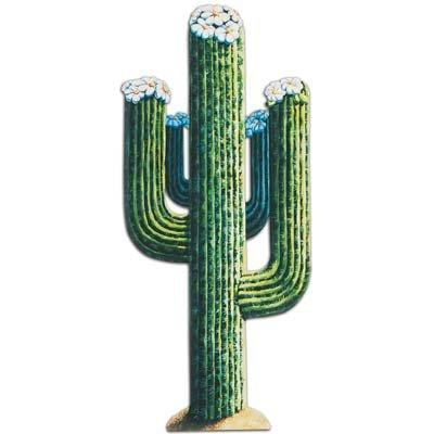 Beistle 55277 Jointed Cactus, 4-Feet 3-Inch
