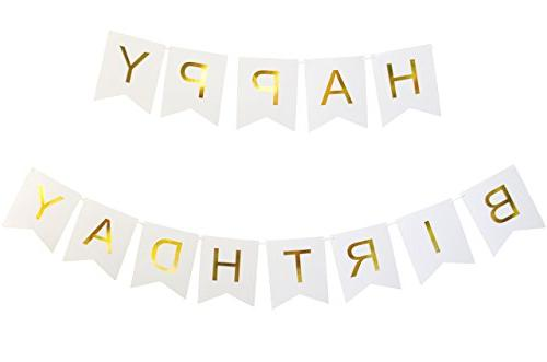 Keira Prince Happy Birthday Banner, Party Decorations, Versa