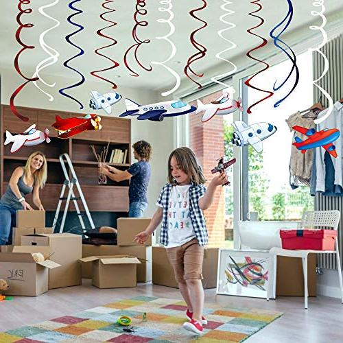 CC HOME Supplies,Airplane Twinkle Hanging Decoration Birthday Party Party ,Baby Shower , Home Air