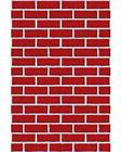 Amscan Very Merry Christmas Party Brick Wall Scene Setters R